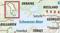 Karte / Moldau