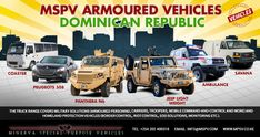 Best Armored Vehicles DOMINICAN REPUBLIC