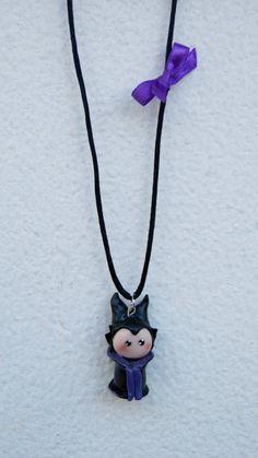Maleficent Disney Sleeping Beauty Polymer Clay by GabiAndAsia, $11.00