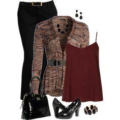 """Plus Size Fall Fashion"" by elise1114 on Polyvore #curvyfashion #plussize #fallfashion"