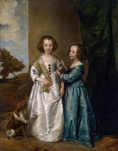Anthony van Dyck - Philadelphia and Elisabeth Wharton Art Print. Explore our collection of Anthony van Dyck fine art prints, giclees, posters and hand crafted canvas products Anthony Van Dyck, Sir Anthony, King Charles Spaniel, Cavalier King Charles, Roi Charles, Renaissance, Art Sur Toile, Hermitage Museum, Oil Painting Reproductions