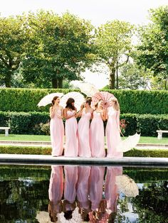 Robes de demoiselles d'honneur via Trendy Wedding