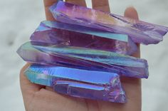 Purple Rose Aura Quartz Crystal Points,Medium Large Raw Rose Aura Quartz Crystal Point, Raw Rose Aura Quartz Point, Purple Aura Quartz Point