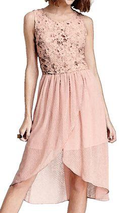 Floral Crochet Dress