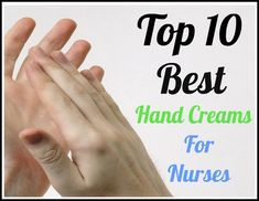 Although proper hand washing is one of our best defenses against disease-causing germs, we nurses should never settle for cracked and irritated hands. Here are ten best hand creams to help heal nurses' healing hands: http://www.nursebuff.com/2014/06/best-hand-creams-for-nurses/
