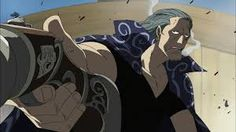 This Man is my Favorite character. Benn Beckman is the first mate of the Red Hair Pirates. Beckman is a tall man, he is at least a foot taller than Shanks. In Luffy's hometown, he sports a black hair tied in a ponytail, and is never seen without his rifle nearby or a cigarette in his mouth.