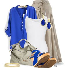 """""""JustFab Beckett - Cobalt"""" by colierollers on Polyvore"""