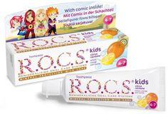 Детская зубная паста с 4 до 7 лет ,45 мл  — 225р. -------------- Детская зубная паста R.O.C.S. kids. Дети не всегда соблюдают необходимое время чистки зубов, R.O.C.S. решает эту проблему двумя способами. Во-первых, зубная паста R.O.C.S. обладает вкусом, который очень нравится детям, поэтому они чистят зубы с удовольствием. Ароматические добавки изготовлены на основе натуральных компонентов. Во-вторых, R.O.C.S. kids действует быстрее и эффективнее.  Особенности:   Зубная паста R.O.C.S. kids…