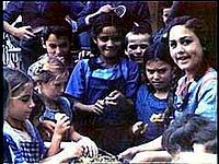 """41 """"Mischlinge"""" half-Romani children at St. Josefspflege orphanage in Mulfingen, Germany, were used in Eva Justin's racial studies for her PhD dissertation. 39 of them (20 boys and 19 girls) were shipped to Auschwitz extermination camp on 9 May 1944. Of the 39 children, two survived Auschwitz; all the others were killed, most on 3 August 1944"""