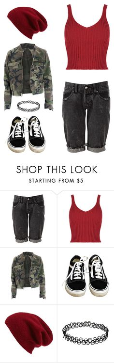 """Teen Angst"" by rebellious-ingenue ❤ liked on Polyvore featuring Vans and Halogen"