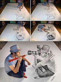 3D art. Cool!.