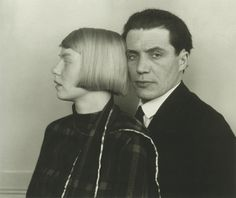 "August Sander, Architect Hans Heinz Luttgen and his wife Dora, 1926, ""People of the 20th Century"""