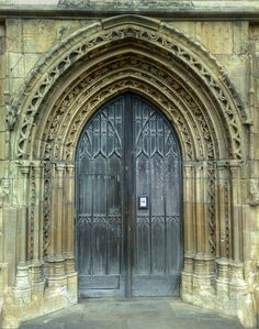 Mary's Church, Beverley, East Riding of Yorkshire Yorkshire England, East Yorkshire, Vintage Doors, Unique Doors, Doorway, Middle Ages, Art And Architecture, Cathedral, Around The Worlds