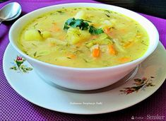 Polish Recipes, Polish Food, Aga, Cheeseburger Chowder, Thai Red Curry, Dinner, Cooking, Ethnic Recipes, Dining