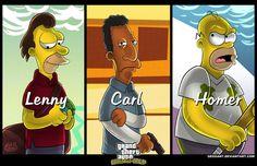 GTA Simpsons.