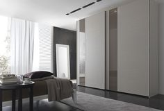 Concepts in wardrobe design. Storage ideas, hardware for wardrobes, sliding wardrobe doors, modern wardrobes, traditional armoires and walk-in wardrobes. Closet design and dressing room ideas. Armoire Design, Cabinet Design, Home Bedroom Design, Modern Bedroom, Bedroom Wardrobe, Wardrobe Closet, Bedroom Furniture, Furniture Design, Wooden Closet