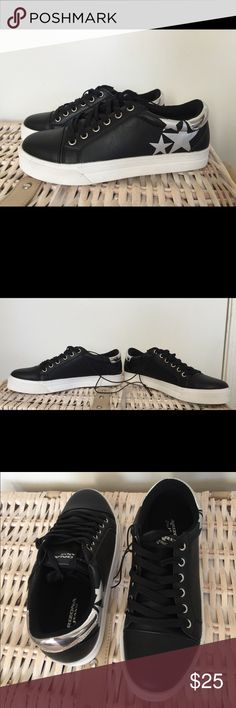 d8fdbf9a4677 Arizona Felice Black Sneakers (leather look) Super cute black sneakers. New  with tags