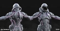 ArtStation - Mass Effect: ANDROMEDA Heleus Armor Set, Christopher Cao