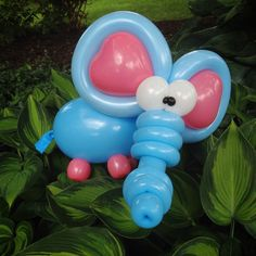Day 299: #Elephant #Balloons #BalloonAnimals