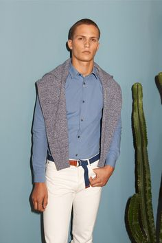 A.P.C. Spring 2015 Menswear Collection Slideshow on Style.com