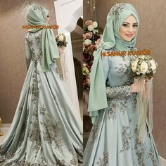 Tesettür Giyim ( 5857 Likes 182 Comments ) Muslimah Wedding Dress, Muslim Wedding Dresses, Muslim Brides, Muslim Dress, Bridal Dresses, Wedding Gowns, Muslim Girls, Muslim Women, Muslim Fashion