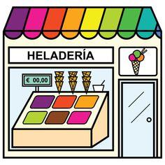 Pictogramas ARASAAC - Heladería.