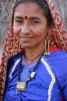 Woman from Gujarat, India.