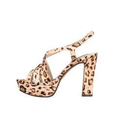 Sandale cu toc și imprimeu leopard de la Victoria Delef - Vine vara, așa că…
