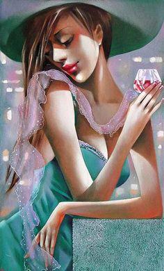 ira tsantekidou - Paintings by Ira Tsantekidou | Art and Design