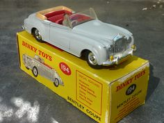 Dinky Toys Bentley S2 Coupé 1:43 scale (Made in England)