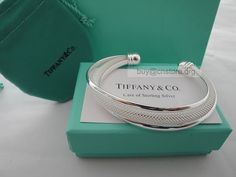 Tiffany Mesh Silver Bracelet