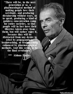 A Brave New World - Aldous Huxley (book published 1932)