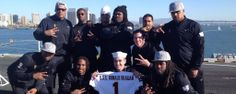 The Sun Devils visit the USS Ronald Reagan
