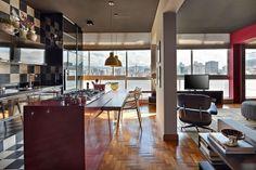 Cozinha de Apartamento no Edifício JK   Gislene Lopes   bim.bon