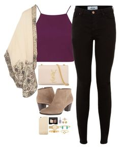 """""""Untitled #82"""" by teenageprep on Polyvore featuring Topshop, Anna Sui, Yves Saint Laurent, Kate Spade, NARS Cosmetics, Essie, Tiffany & Co., Kendra Scott, Michael Kors and Cartier"""