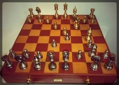 Who likes play #chess?   ****  A chi piace giocare a #scacchi?   #handmade #chessboard #leather #CepiPelletterie #MadeInItaly