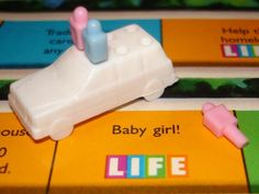 Game of Life Pregnancy Announcement
