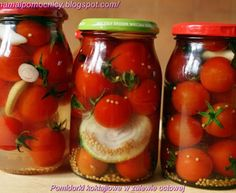 Polish Recipes, Polish Food, Beets, Preserves, Mason Jars, Food And Drink, Healthy Eating, Tasty, Stuffed Peppers