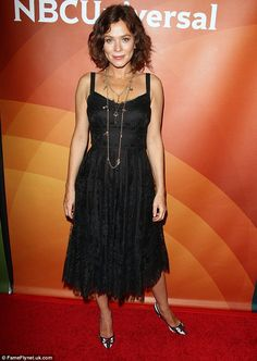 Anna Friel has been showing off the results of her workouts for her role in TV series American Odyssey