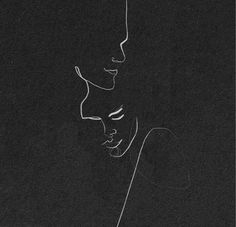 ✔ Couple Illustration Cute We Heart It Art Sketches, Art Drawings, Drawing Quotes, Broken Drawings, Minimal Drawings, Drawing Drawing, Pencil Drawings, Art Amour, Couple Drawings