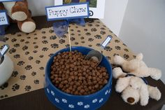 The Foley Fam - Unedited: PARTY Guest Post: Puppy themed Party