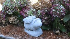 Cast Stone Guinea Pig Angel by springhillstudio on Etsy, $23.95