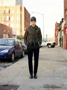Street Life: Givenchy Menswear Pre-Fall 2012 Collection