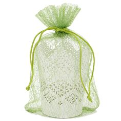 30 Organza Green Gift Party Favor Fabric Birthday Treat Goody Bag 5.5' By 9' ** Discover this special product, click the image : Wrapping Ideas
