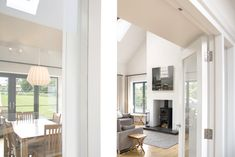 Marlacoo House, Co. Armagh — Paul McAlister Sustainable and Passive House Architects - Portadown, Belfast, Northern Ireland House Designs Ireland, Country House Interior, House Design, House, Traditional House, House Plans, Passive House, House Interior, Bungalow Design