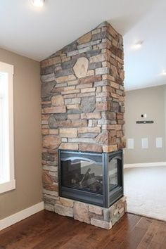 3 Sided Fireplace Design, Pictures, Remodel, Decor and Ideas - page 10