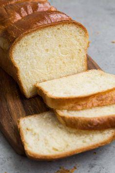 Brioche Loaf Bread- The Little Epicurean Brioche-Laib-Brot – der kleine Genießer, Meatloaf Recipe With Crackers, Meatloaf Recipes, Loaf Bread Recipe, Bread Recipes, Brioche Bread Machine Recipe, Sauce Recipes, Baking Recipes, Scones, Recipe Girl