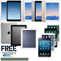 #computer New iPad 2/3/4,Air,mini,2,3,4 WiFi Retina Display Tablet 16GB 32GB 64GB 128GB please retweet