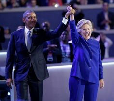 Obama vota anticipadamente por Hillary Clinton en Chicago - HSB Noticias