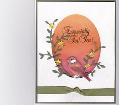 Especially for you bird by Mere Deaux - Cards and Paper Crafts at Splitcoaststampers